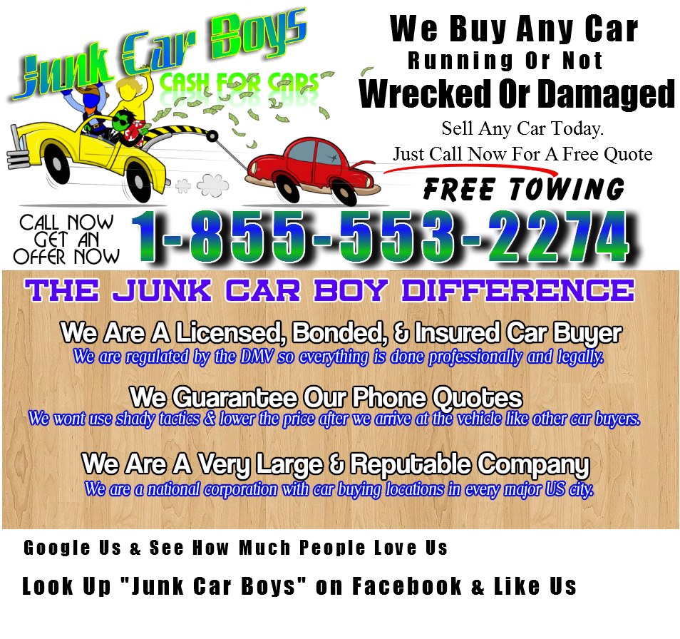 We Buy Junk Cars Aloha, OR | Sell Your Car Today In Portland OR